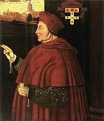 Cardinal Wolsey ordained as a priest at St Mary's church in Marlborough